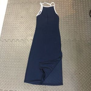 American Eagle Don't Ask Why Midi Dress with Slit